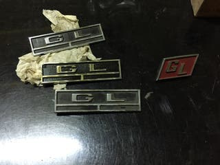 Anagramas GL para Simca 1000 nuevos