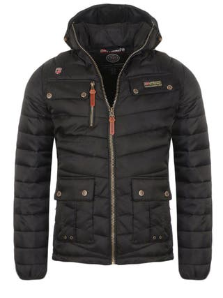 Chaqueta Hombre GEOGRAPHICAL NORWAY, Color Negra.