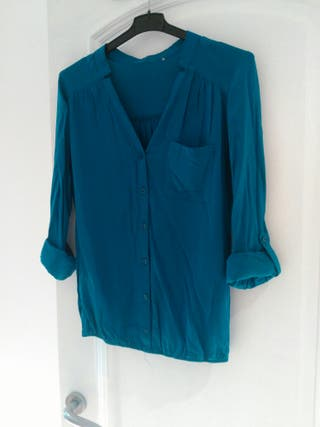 Camisa turquesa oscuro