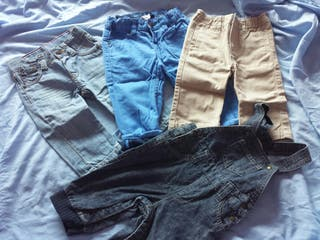 pantalon y peto 6 meses