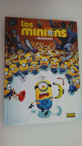 Libro - cómic de minions, cuento