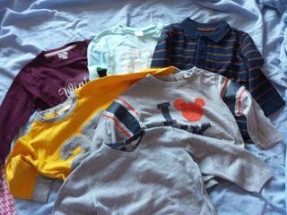 camisetas 18 meses