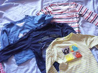 camisetas 12 meses 2€ cada una
