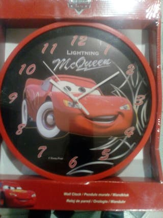 Reloj de pared Cars Disney