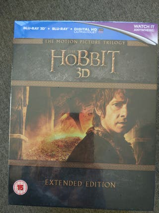Trilogía El Hobbit. V.O extendida, 3D y Digital