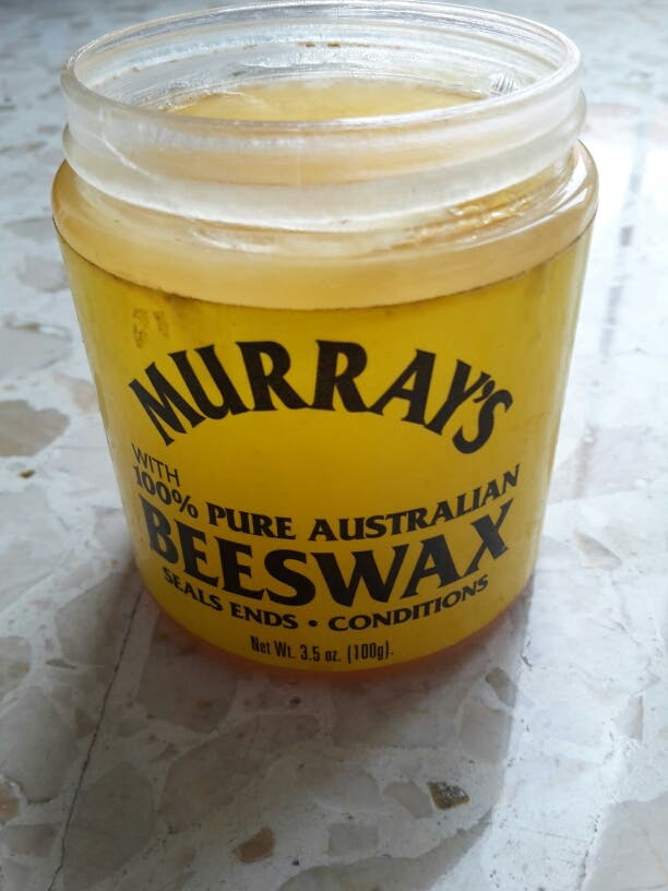 Murray's beeswax seals end 100% pure australian.