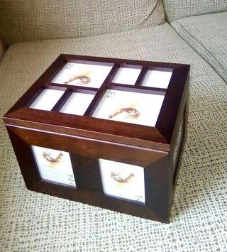 Gran caja porta fotos