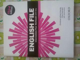 English file intermediate plus workbook with key