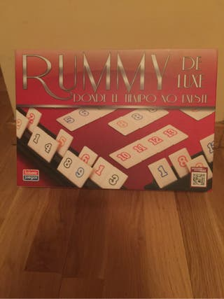 Juego de mesa rummy de luxe