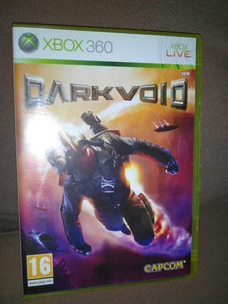 DARKVOID, Xbox 360, videojuego, Microsoft.
