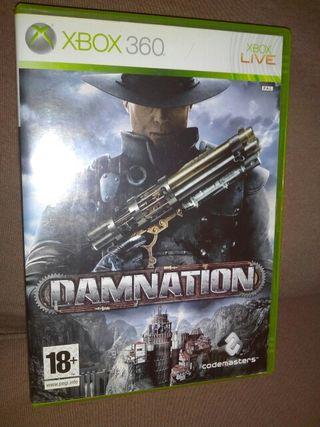 DAMNATION, Xbox 360, videojuego, Microsoft