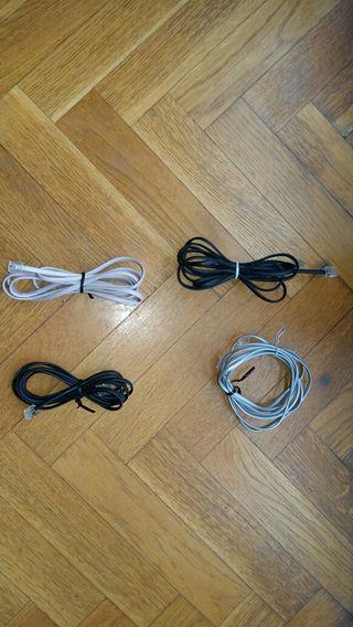Cables de línea de telefono