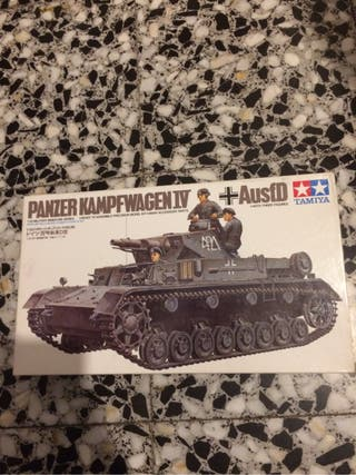 Maqueta tamiya panzer IV