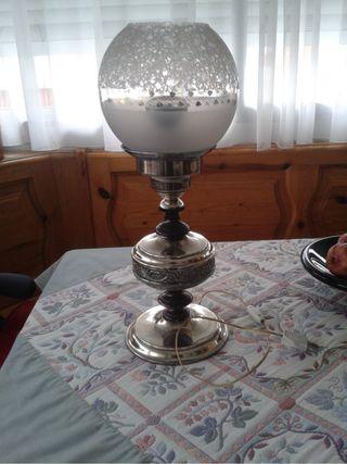 Lampara De Mesilla Vintage