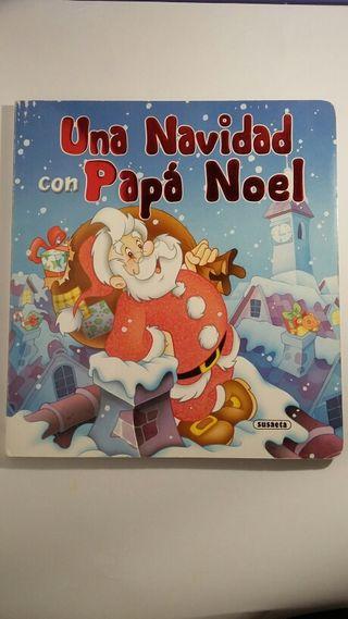 """Libro interactivo """" Una Navidad con Papa Noel"""""""