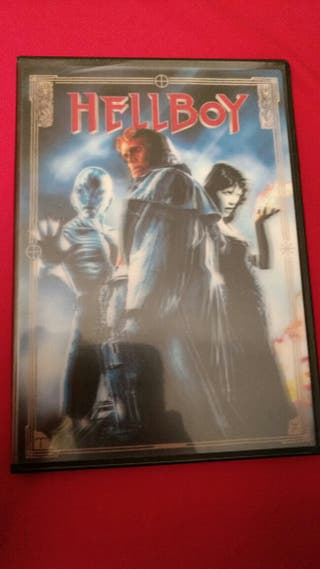 Hellboy DVD. Caratula holografica