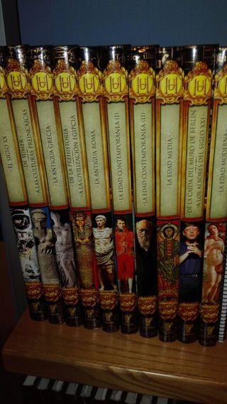 Colección de libros historia universal