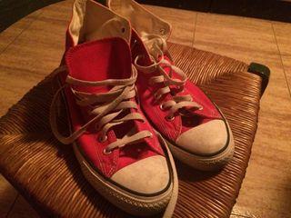 Zapatillas Converse All Star rojas