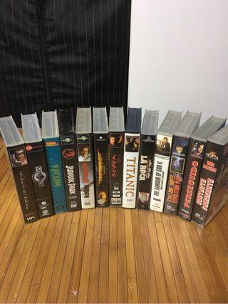 Películas VHS varias