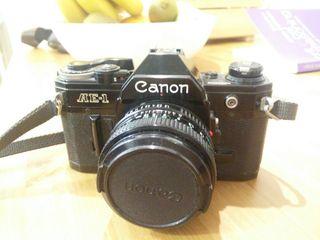 Canon AE-1 Analógica + objetivos