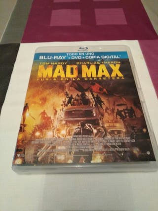 Blu-ray + DVD + copia digital Mad Max