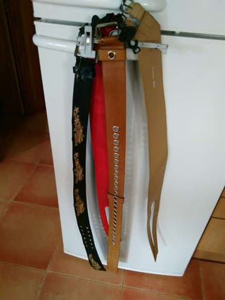 Cinturones sin uso