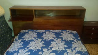 Mueble cama antiguo