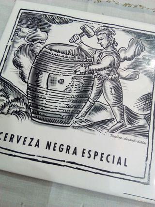 Baldosa cerámica de cerveza