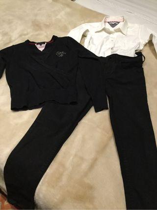 Conjunto Pantalón, Camisa Y Jersey