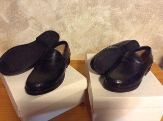 Zapatos Mocasines Niño A Estrenar