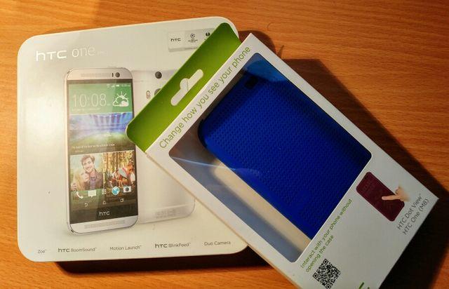 HTC One (M8) Libre + funda oficial+ cargador