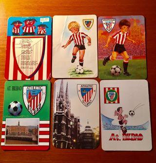 Calendarios de bolsillo del Athletic