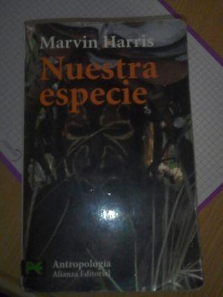 """Libro """"Nuestra Especie"""""""