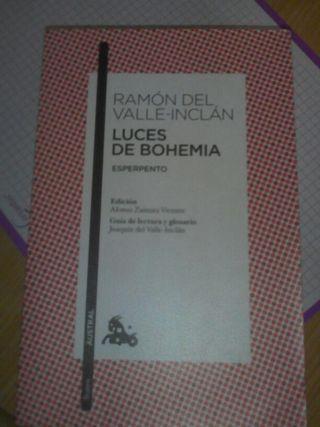 """Libro """"Luces de Bohemia"""""""