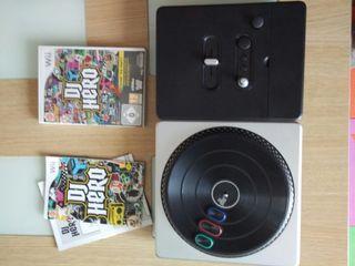 DJ Hero + mesa de mezclas (Wii)