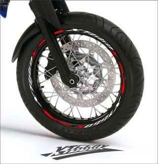 Vinilo tiras llanta moto Yamaha Xt 660 x