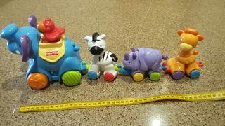 Tren animalitos de Fisher Price