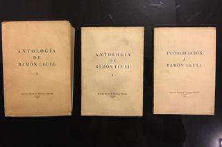 Obras de Ramón Llull