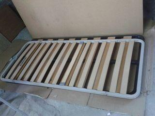 SOMIER SUNLAY LAMAS MADERA 180 X 80