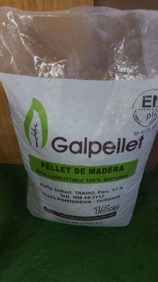 1 saco pellets