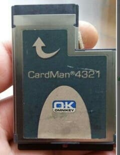 express card 54mm lector dni