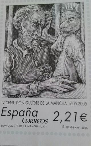 Cartel IV centenario Don Quijote