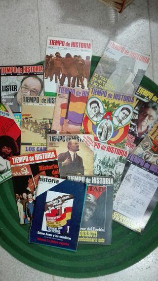 Lote de revistas antiguas «Tiempo de Historia»