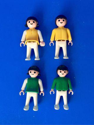 Lote 4 niños FAMOBIL