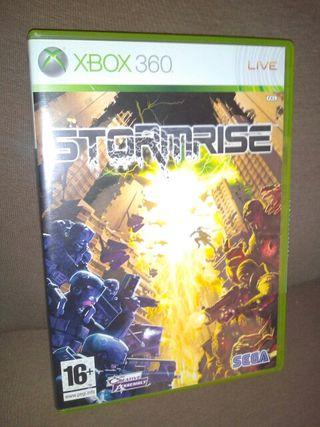 STORMRISE, Xbox 360, videojuego, Microsoft