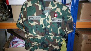 Traje militar Ejerciti Chino