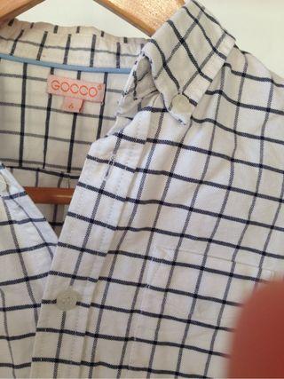 Camisa niño Gocco talla 6