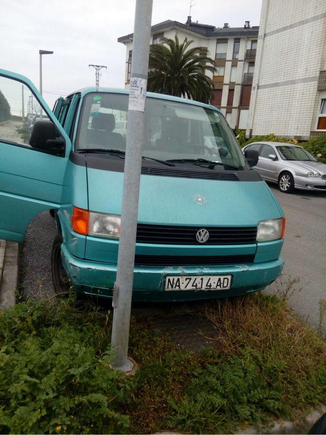 Furgoneta Volkswagen caravelle t4