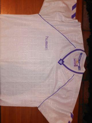 Camiseta del Real Madrid temporada 80/90 talla XL