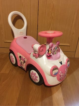 Moto Minnie interactiva juguete